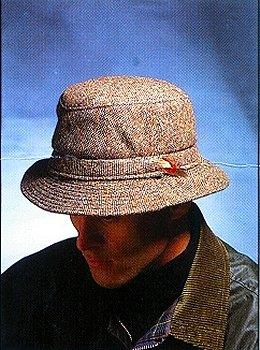 Salt and Pepper Rim Hat 009HSP