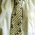 Light Yellow Celtic Design Tie 023 5A