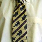 Yellow Celtic Design Tie 023 6A