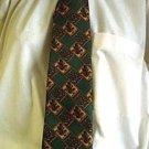 Green Square Celtic Tie