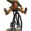Finnian on Penny Farthin Bike