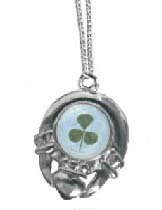 Round Claddagh Neckpiece