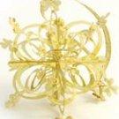 Gold Claddagh Design Snowflake Decoration
