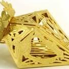 Gold Diamond Ornament