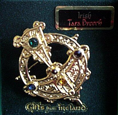 Traditional Celtic Tara Brooch