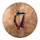14 Inch Bodhran with Beater and Tutor Book