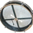 18 Inch Tunable Bodhran with Beater and Tutor Book