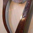 Rosewood 27 String Harp