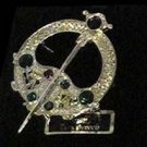 Tara Brooch Large with 7 Small Stones