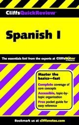 Cliffs quick review Spanish I by Jill Rodriguez