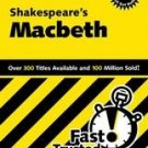 Cliffsnotes Shakespeare's Macbeth by Alex Went pb