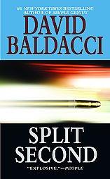 Split Second by David Baldacci pb books