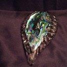 Blue / Green Foil Leaf