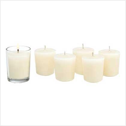 #39227 Ivory Vanilla Classic Votives