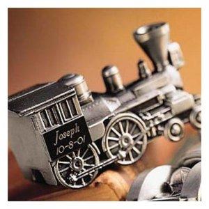Pewter Train Bank GC168