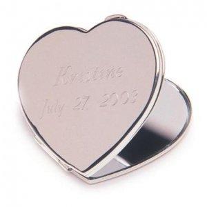 Engraved Heart Mirror GC190