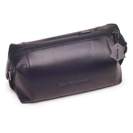 Engraved Leather Toiletry Bag GC191