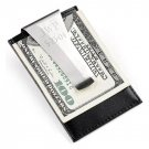 Leather Money Clip and Card Holder GC210
