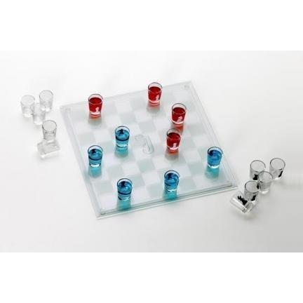 Shot Glass Checkers Set GC244