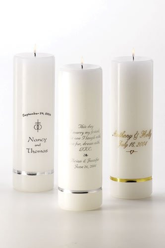 Personalized Unity Candles GC305