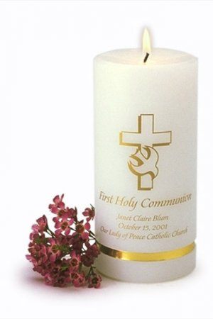 Personalized First Communion Candle  GC318