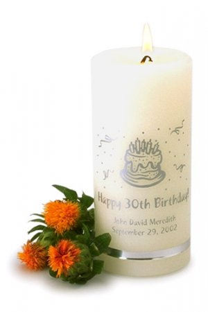 Personalized Birthday Candle GC323
