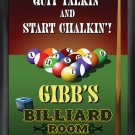 Billiards Pub Sign