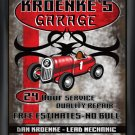 Garage Plaque Pub Sign