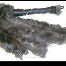 Black Rabbit Hide Flogger