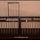 Display Quality Large Sleeping Cage made of Wood and Metal