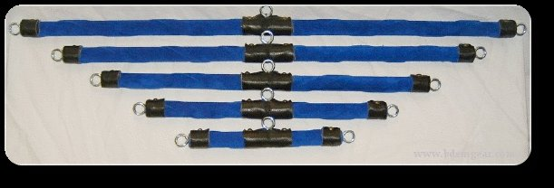 Deluxe Blue Spreader Bars (set of 5)