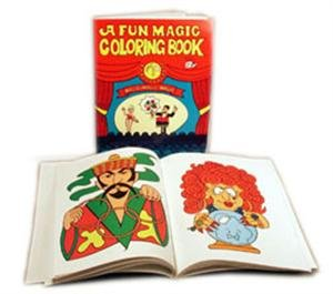 Fun Magic Coloring Book, Large Size and Easy to Perform (1728)