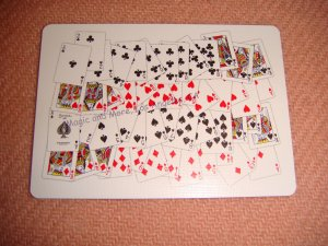 52 on 1, Gag Card, Bicycle Back (2007)