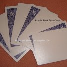 Blank Face Bicycle Deck of 56 Cards, Blue Backs (2213)