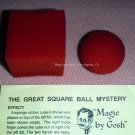 The Great Square Ball Mystery, from Magic by Gosh (1047)