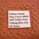 Replacement Rubber Bands for Half Dollars, 20 Count (8802)