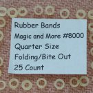 Replacement Rubber Bands for Magic Coins, Lot of 100 (8000)