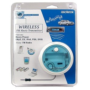 FM Transmitter for Apple iPods & MP3 Players Sale