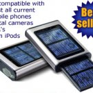 Solar powered mobile phone car charger