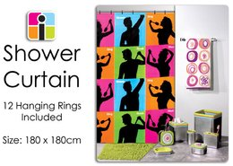 The Singing Shower Curtain