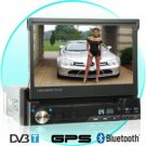 1-DIN GPS Media Player with 7 Inch Touch Screen and DVB-T