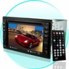 Ultra Double Din 6.2 Inch LCD Car DVD with Touchscreen + TV