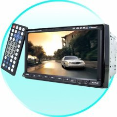 Car Video DVD Player - 2-DIN Touchscreen LCD Plus IPOD Control
