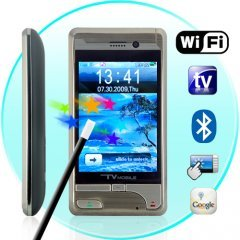 Voyager - Quad Band Touchscreen Dual-SIM WiFi Media Cellphone