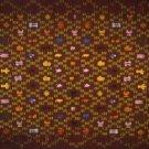 kente cloth (brown)