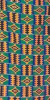 kente cloth (green)
