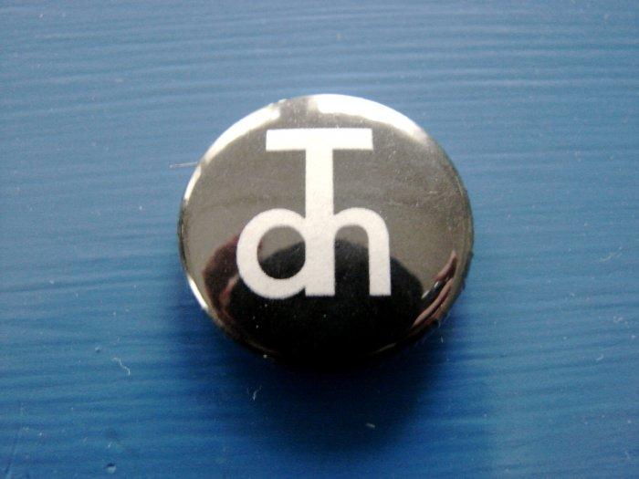 "Black 1"" Button"