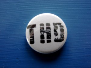 "White 1"" Button"