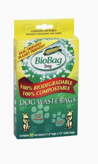 Dog Waste Bags   ( small , 50 ct. box )