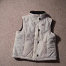 1 SMALL OP WINTER WHITE REVERSIBLE VEST
